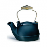 Matte Black Half Kettle Front View