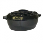 Cast Iron Jet Black Fireplace Steamer