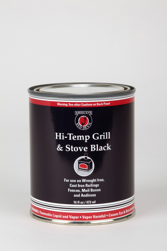 Hi Temp Grill And Stove Black