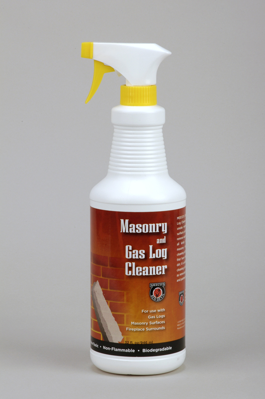 Masonry gas log cleaner for Non toxic concrete cleaner