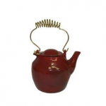 Red Cast Iron Kettle