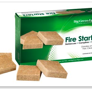 Big Green Egg Charcoal Fire Starters