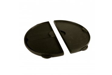 Big Green Egg Half Moon Cast Iron Griddle