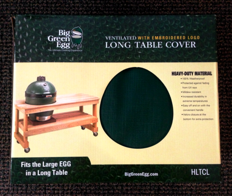 big green egg long table cover