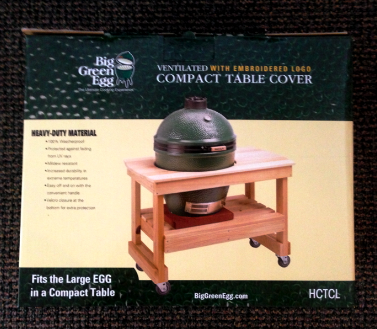 Compact Big Green EGG Table Covers