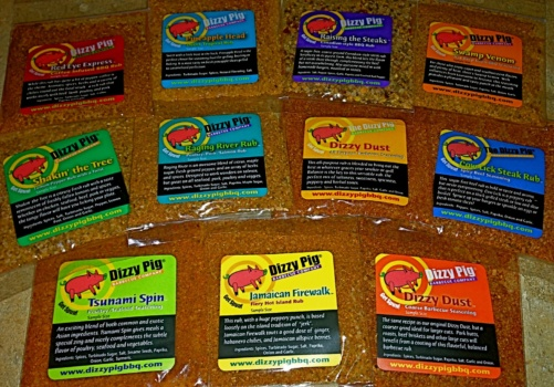 Dizzy Pig Seasoning Sampler