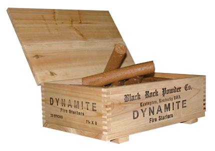 Black Rock Powder Co. Dynamite Fire Starters