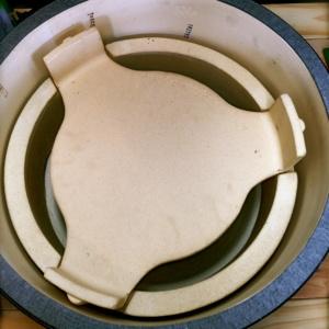 Big Green Egg Plate Setters