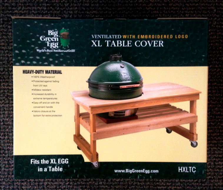 Xl Big Green Egg Table Cover Dimensions 28 Images