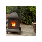 Dagan Pagoda Firepit Burning