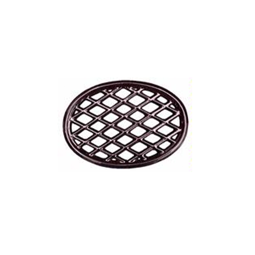 Brown Majolica Oval Lattice Wood Stove Steamer Trivet