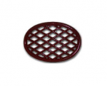 Apple Red Lattice Wood Stove Steamer Trivets