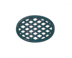 Colonial Blue Lattice Wood Stove Steamer Trivets