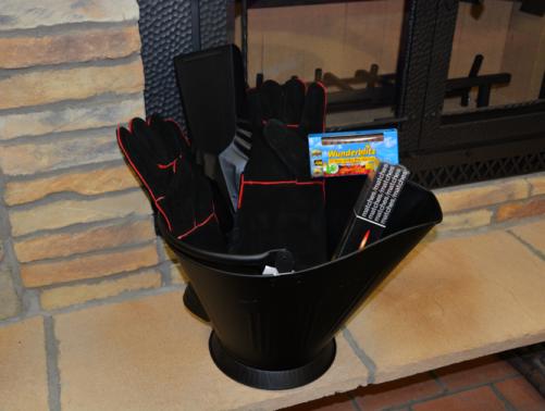 Fireplace Starter Kit