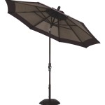 11' Collar Tilt Market Umbrella