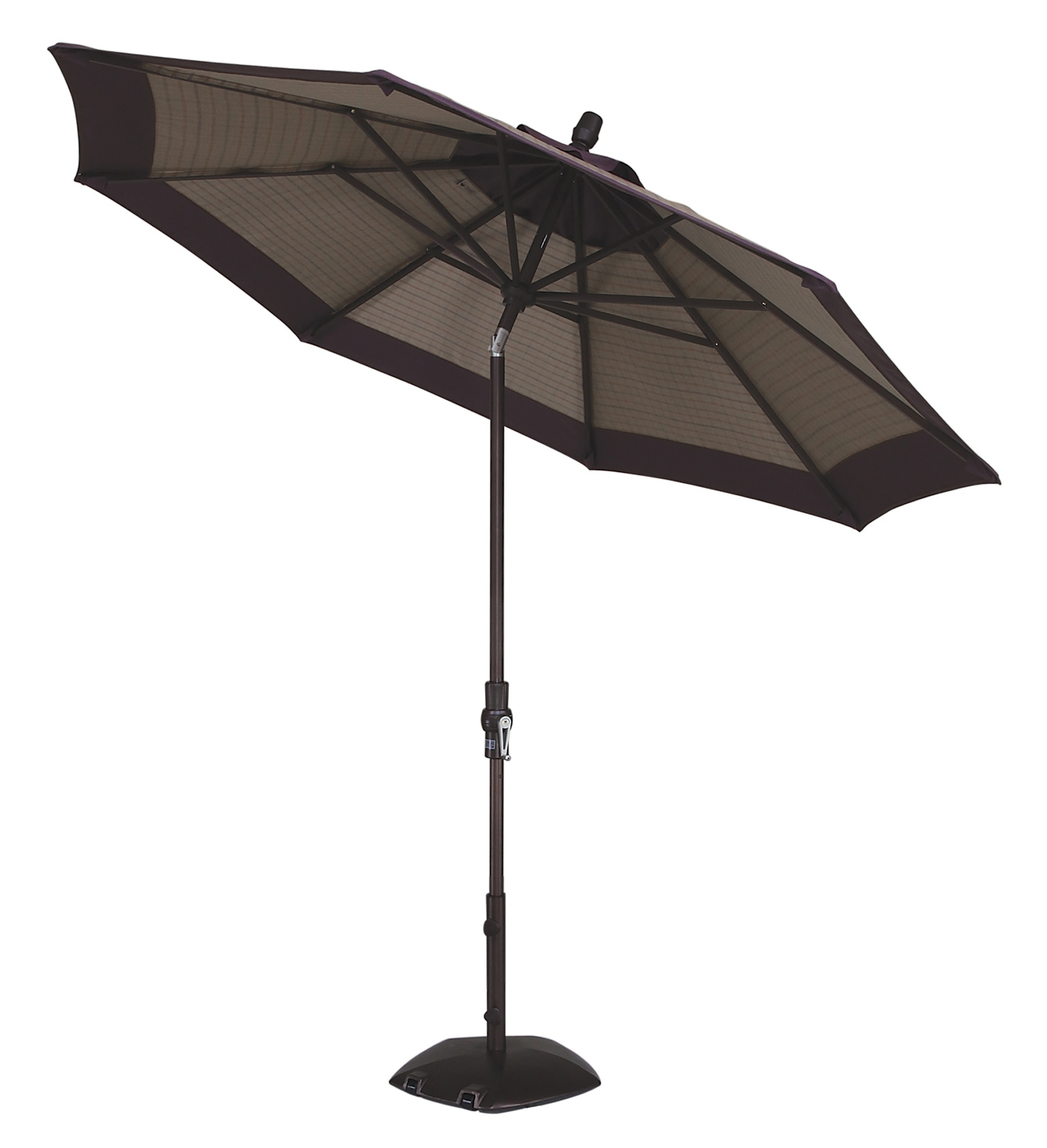 11 Collar Tilt Octagon Market Umbrella