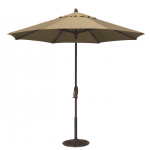 9' Auto Tilt Octagon Market Umbrella