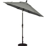 9' Collar Tilt Market Umbrella
