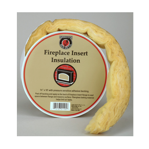 Fireplace Insert Insulation - Adhesive Fiberglass Insulation Roll