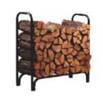 Open Hearth 4 Foot Deluxe Log Rack With Cover
