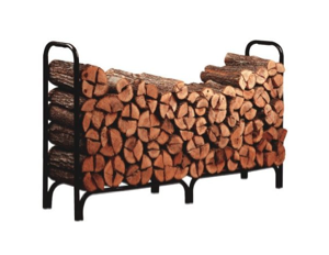 8 Foot Deluxe Log Rack with Cover