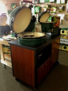 Big Green Egg Challenger Cart