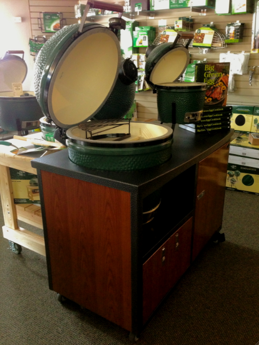 Big Green Egg Challenger Cart Country Stove Patio And Spa