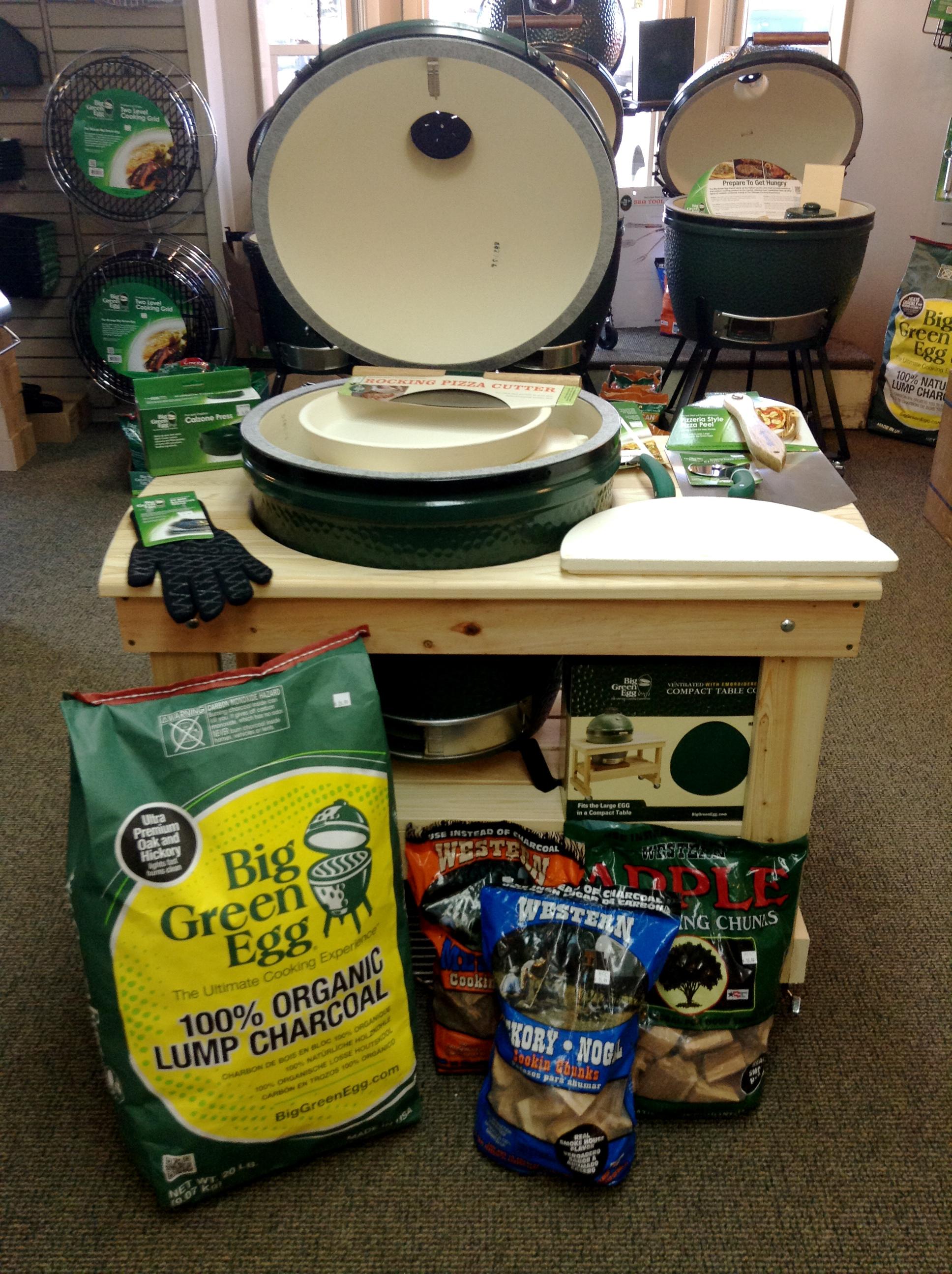 Big Green Egg Cypress Compact Table