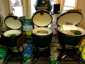 Big Green Egg Medium, Large, X-Large