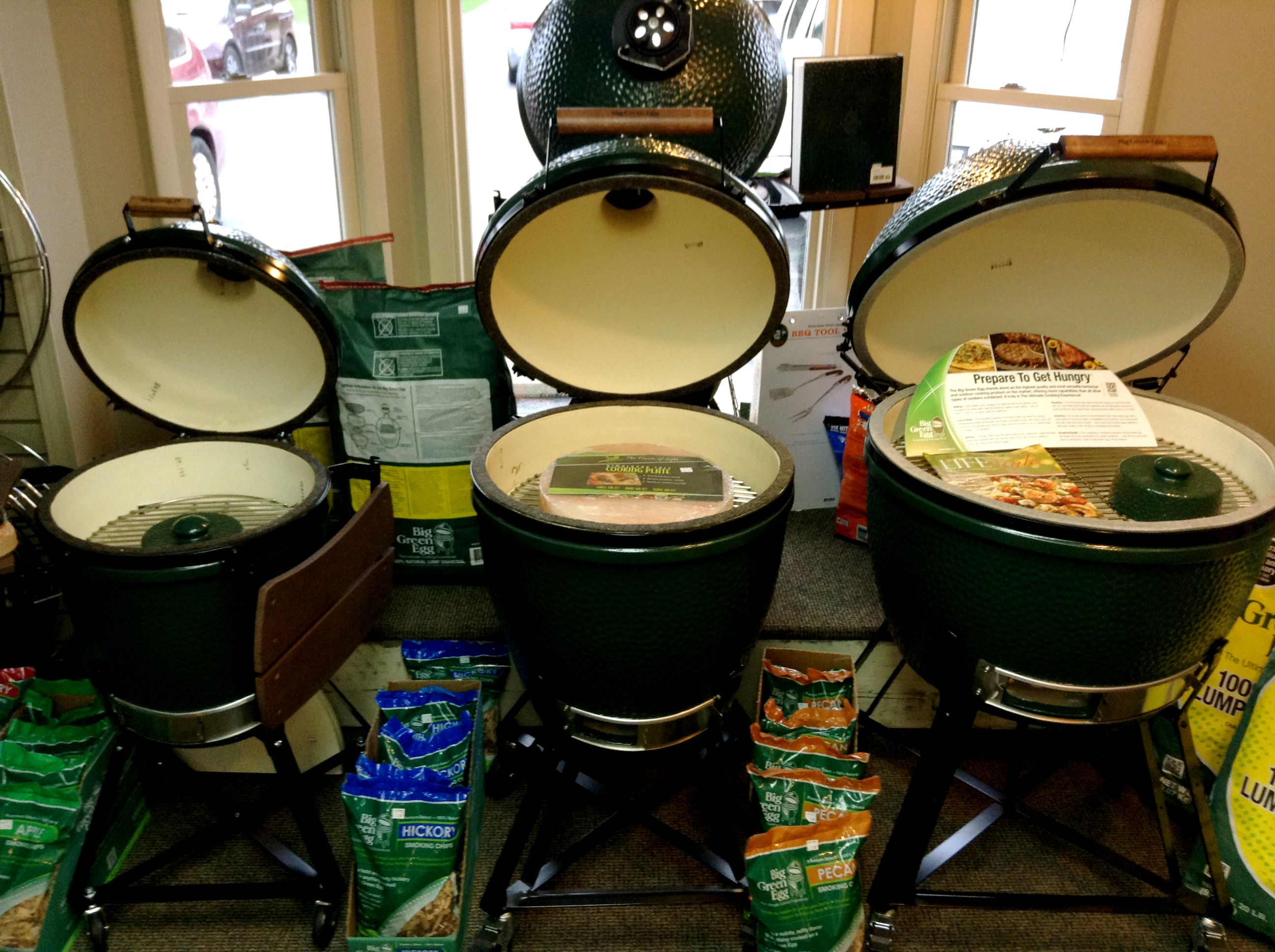 Big Green Egg Medium Large X Large Country Stove Patio