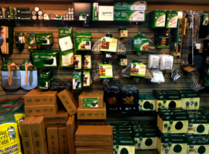 Big Green Egg Wall of Accessories