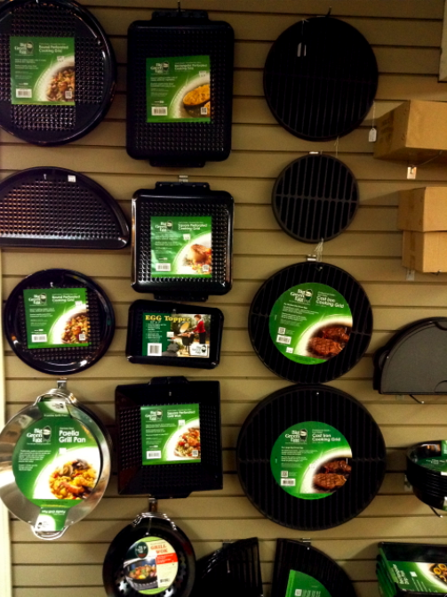 Big Green Egg Wall of Grids & Grates