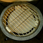 Big Green Egg Mini Plate Setter with Cooking Grate