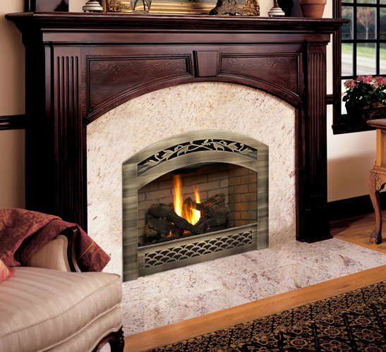 Fireplace Xtrordinair 564 Space Saver Country Stove And
