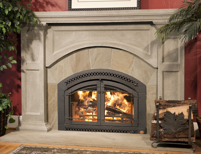Fireplace xtrordinair fpx 44 elite country stove patio for New construction wood burning fireplace