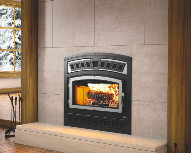 valcourt lafayette high efficiency wood fireplace