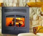 valcourt versailles high efficiency wood fireplace