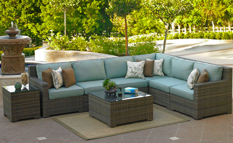 Wicker Deep Seating Patio Furniture.North Cape International Wicker Patio Furniture Outdoor Wicker