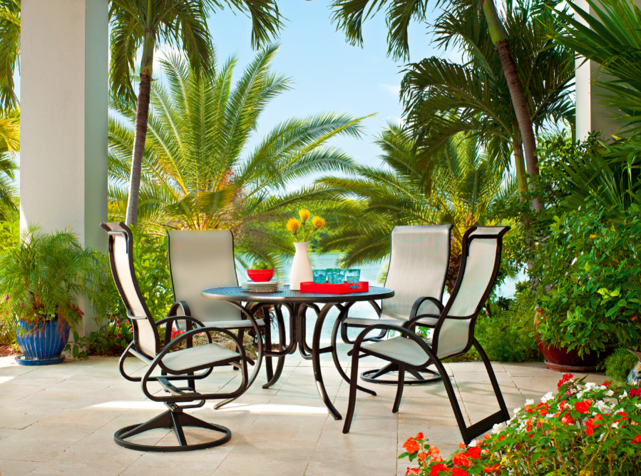 Telescope Casual Aruba II Sling Patio Furniture