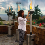 Portable Patio Gas Lamps