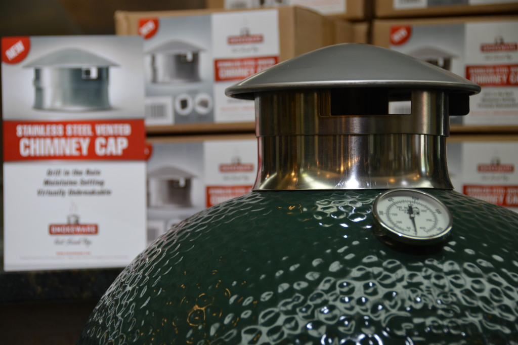 Big Green EGG Stainless Steel Chimney Cap