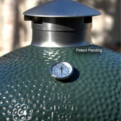 Fits Big Green Egg Stainless Steel Vented Chimney Cap