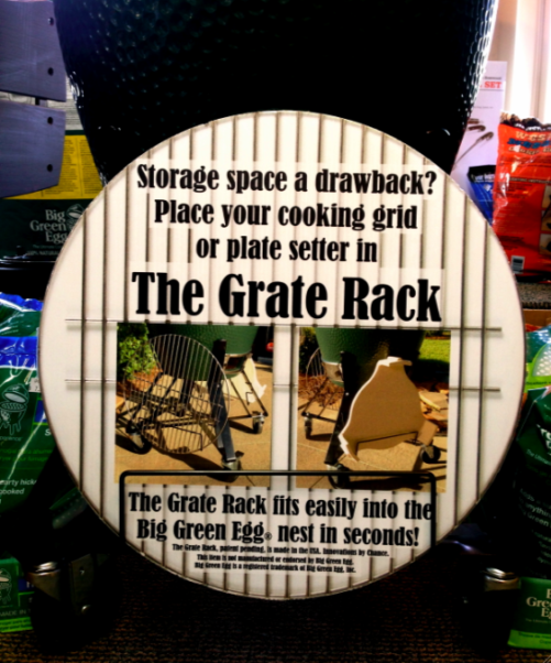 Big Green Egg Grate Rack