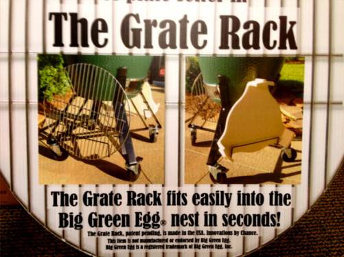 Big Green Egg Grate Racks