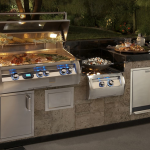 Outdoor Grill Island BBQ Grills