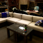 Wicker Sectional Seating