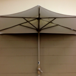 Off the Wall Half Umbrellas