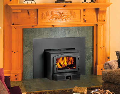 Lopi Republic 1750i Wood Fireplace Insert
