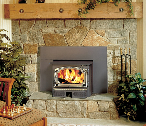 Lopi Revere Wood Fireplace Insert