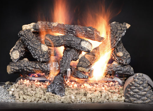 Log Cabin Vented Gas Log Set